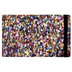 Pattern Abstract Decoration Art Apple Ipad 2 Flip Case