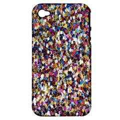 Pattern Abstract Decoration Art Apple Iphone 4/4s Hardshell Case (pc+silicone)