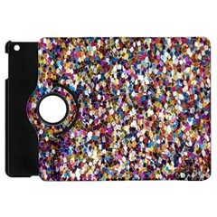 Pattern Abstract Decoration Art Apple Ipad Mini Flip 360 Case
