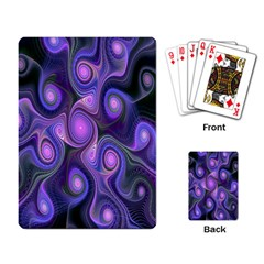 Abstract Pattern Fractal Wallpaper Playing Card