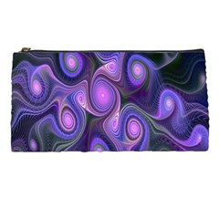 Abstract Pattern Fractal Wallpaper Pencil Cases by Nexatart