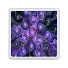 Abstract Pattern Fractal Wallpaper Memory Card Reader (square)