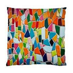 Mosaic Tiles Pattern Texture Standard Cushion Case (two Sides)
