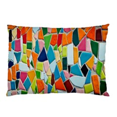 Mosaic Tiles Pattern Texture Pillow Case (two Sides)