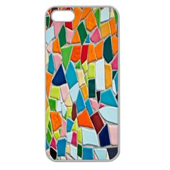 Mosaic Tiles Pattern Texture Apple Seamless Iphone 5 Case (clear)