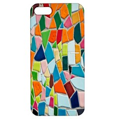 Mosaic Tiles Pattern Texture Apple Iphone 5 Hardshell Case With Stand