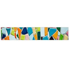 Mosaic Tiles Pattern Texture Large Flano Scarf  by Nexatart