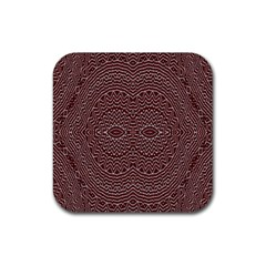 Design Pattern Abstract Rubber Square Coaster (4 Pack)