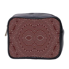Design Pattern Abstract Mini Toiletries Bag 2 Side