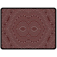 Design Pattern Abstract Fleece Blanket (large)