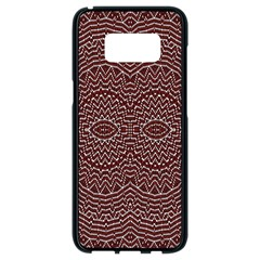Design Pattern Abstract Samsung Galaxy S8 Black Seamless Case