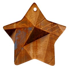 Steel Corten Steel Brown Steel Ornament (star)
