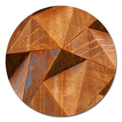 Steel Corten Steel Brown Steel Magnet 5  (round)