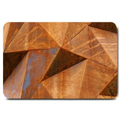 Steel Corten Steel Brown Steel Large Doormat  by Nexatart