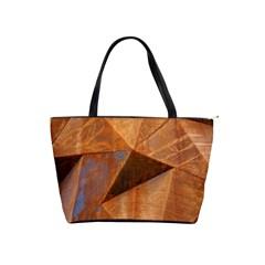 Steel Corten Steel Brown Steel Shoulder Handbags