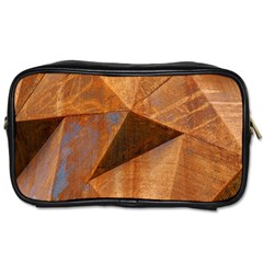 Steel Corten Steel Brown Steel Toiletries Bags 2 Side