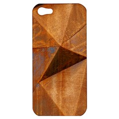 Steel Corten Steel Brown Steel Apple Iphone 5 Hardshell Case