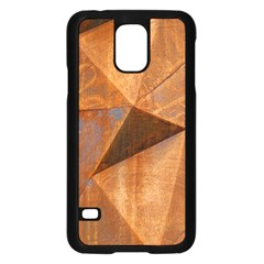 Steel Corten Steel Brown Steel Samsung Galaxy S5 Case (black)