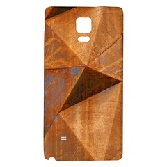 Steel Corten Steel Brown Steel Samsung Note 4 Hardshell Back Case