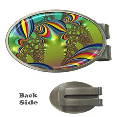 Amazing Fractal 5182 Money Clips (oval)