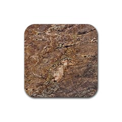 Granite 0538 Rubber Square Coaster (4 Pack)