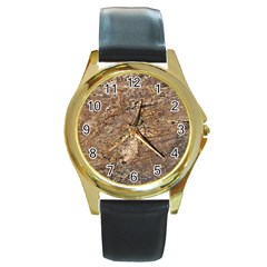 Granite 0538 Round Gold Metal Watch