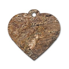Granite 0538 Dog Tag Heart (one Side)