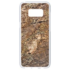 Granite 0538 Samsung Galaxy S8 White Seamless Case