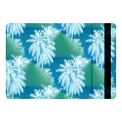 Palm Trees Tropical Beach Coastal Summer Blue Green Apple Ipad Pro 10 5   Flip Case by CrypticFragmentsColors