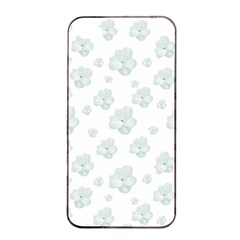 Pastel Floral Motif Pattern Apple Iphone 4/4s Seamless Case (black) by dflcprints