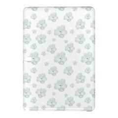 Pastel Floral Motif Pattern Samsung Galaxy Tab Pro 12 2 Hardshell Case