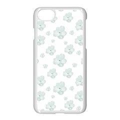 Pastel Floral Motif Pattern Apple Iphone 7 Seamless Case (white)
