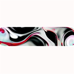 Pink And Black Smokey Design By Kiekie Strickland Large Bar Mats