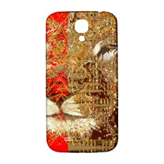 Artistic Lion Red And Gold By Kiekie Strickland  Samsung Galaxy S4 I9500/i9505  Hardshell Back Case by flipstylezdes