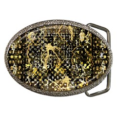 Retro Design In Gold And Silver Created By Kiekie Strickland Flipstylezdesigns Belt Buckles
