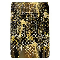 Retro Design In Gold And Silver Created By Kiekie Strickland Flipstylezdesigns Flap Covers (s)  by flipstylezdes