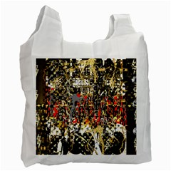 Facing The Storm Design By Kiekie Strickland Recycle Bag (one Side) by flipstylezdes