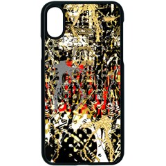 Facing The Storm Design By Kiekie Strickland Apple Iphone X Seamless Case (black)