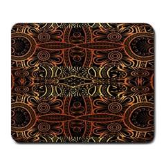 Gorgeous Aztec Design By Kiekie Strickland Large Mousepads