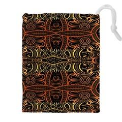 Gorgeous Aztec Design By Kiekie Strickland Drawstring Pouches (xxl) by flipstylezdes