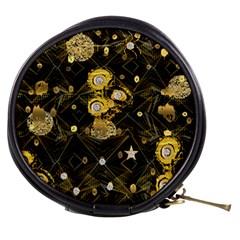 Decorative Icons Original Gold And Diamonds Creative Design By Kiekie Strickland Mini Makeup Bags by flipstylezdes