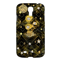 Decorative Icons Original Gold And Diamonds Creative Design By Kiekie Strickland Samsung Galaxy S4 I9500/i9505 Hardshell Case by flipstylezdes