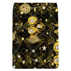 Decorative Icons Original Gold And Diamonds Creative Design By Kiekie Strickland Flap Covers (s)  by flipstylezdes