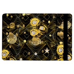Decorative Icons Original Gold And Diamonds Creative Design By Kiekie Strickland Ipad Air Flip