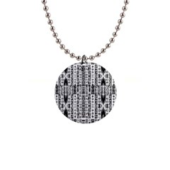Creative Retro Black And White Abstract Vector Designs By Kiekie Strickland Button Necklaces
