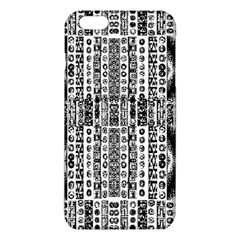 Creative Retro Black And White Abstract Vector Designs By Kiekie Strickland Iphone 6 Plus/6s Plus Tpu Case