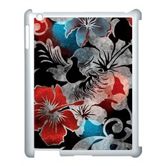 Beautiful Hibiscus Flower Design  Apple Ipad 3/4 Case (white) by flipstylezdes