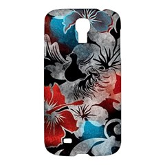 Beautiful Hibiscus Flower Design  Samsung Galaxy S4 I9500/i9505 Hardshell Case by flipstylezdes