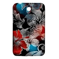 Beautiful Hibiscus Flower Design  Samsung Galaxy Tab 3 (7 ) P3200 Hardshell Case  by flipstylezdes