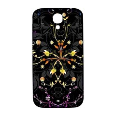 Beautiful Floral Swirl Brushes Vector Design Samsung Galaxy S4 I9500/i9505  Hardshell Back Case by flipstylezdes